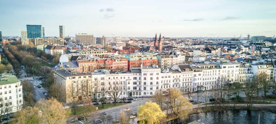 Relexa Hotel Bellevue Hamburg har en god placering i smukke Hamburg, lige ud mod Aussenalster-søen, i kort afstand fra centrum.