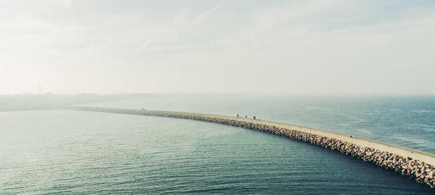 Genießen Sie die zentrale Lage nahe des Hafens von Puttgarden.