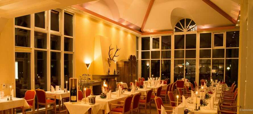 Die gemütliche Umgebung des Hotels lädt zu Entspannung und Gemütlichkeit während des ganzen Jahres ein.