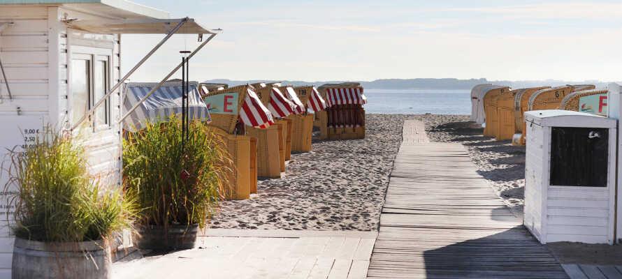 Direkte adgang til Østersøen og den daglige badetur.