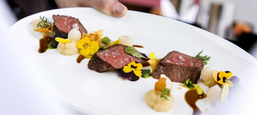 Fremragende restaurant med udsigt over havet og dejlige regionale retter.