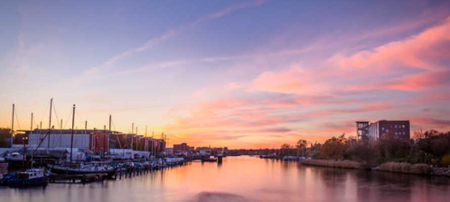 Kiel er en vakker by full av opplevelser og fine butikker.