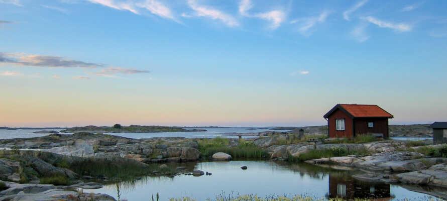 Sehen Sie sich auch die herrliche Natur rund um Stockholm an.