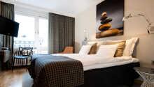 Eksempel på et av hotellets moderne værelser
