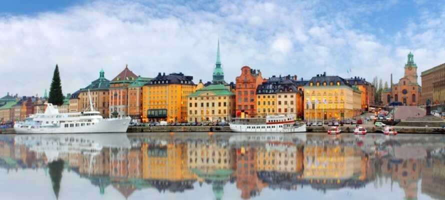 Erleben Sie Stockholm, was viele spannende Sehenswürdigkeiten bereit hält.