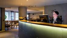 Ett personligt hotell med bra service med 24 timmar receptions-serivce, tillgång till gym och gratis wifi.