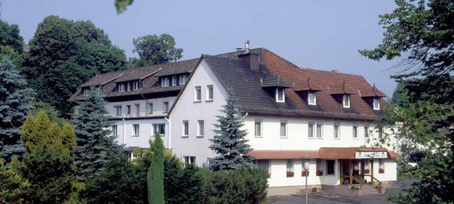 Hotel Link er et hyggeligt familieejet hotel, der byder jer velkommen i familiære omgivelser.