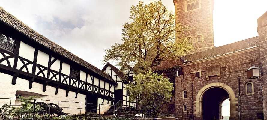 Besuchen Sie das aufregende Museum in den Ruinen von Boyneburg.