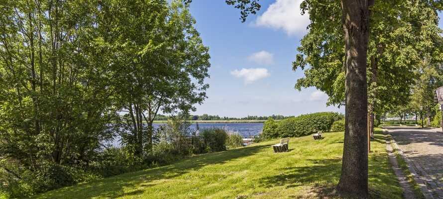 Friedrichstadt tilbyder en perfekt blanding af byliv og rolige oaser.