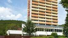 Aparthotel Panoramic har en skøn beliggenhed i en dal i det sydlige Harzen