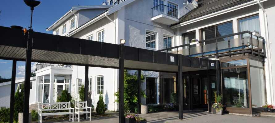 Hotell Vinger har en idyllisk og central beliggenhed i den norske fæstningsby, Kongsvinger, ca. 100 km. nordøst for Oslo.