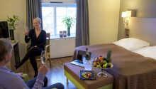 Hotellets nydelige og hyggelige værelser er indrettet med fokus på komfort.