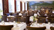 Mat och dryck på ett av hotellets restauranger