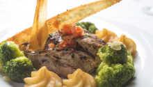 Beispiel für ein Gericht im Restaurant