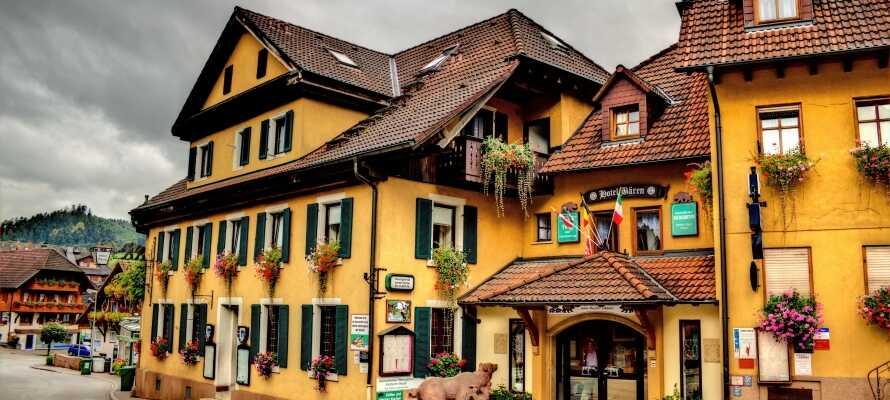 Det familiedrevne hotel i Oberharmersbach er fyldt med hyggelig atmosfære hele året rundt.