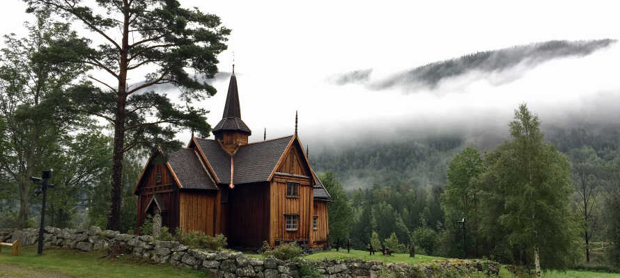 Numedal er kendt som Middelalderdalen med 4 stavkirker og 44 middelalderbygninger.