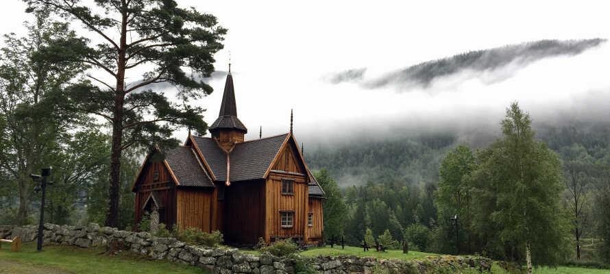 Im Numedal gibt es 4 Stabkirchen und 44 mittelalterliche Gebäude zu besichtigen