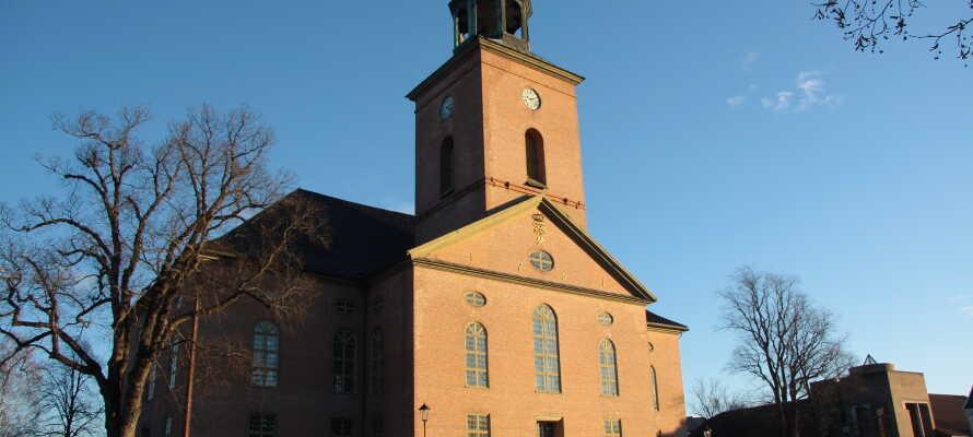 Åk på utflykt till silvergruvan, kyrkan och Kongsbergs museum som är väl värda ett besök.
