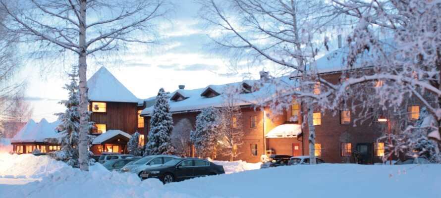 Lampeland Hotell i Kongsberg ligger i dejlige omgivelser mellem Geilo og Oslo.
