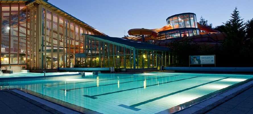 Ni får 15% rabatt på entréavgiften till Wonnemar vattenland som ligger endast 3 km från hotellet.