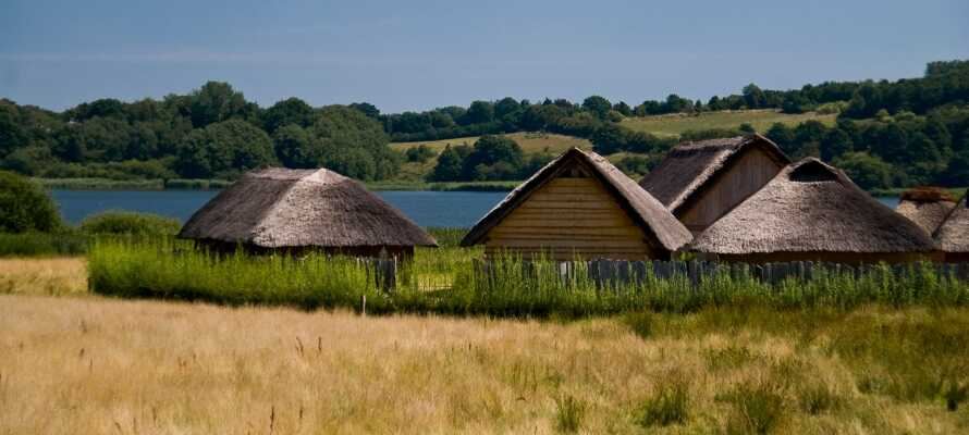 Vikingemuseet Hedeby ligger kun en halv times kørsel fra hotellet og er en spændende historisk oplevelse