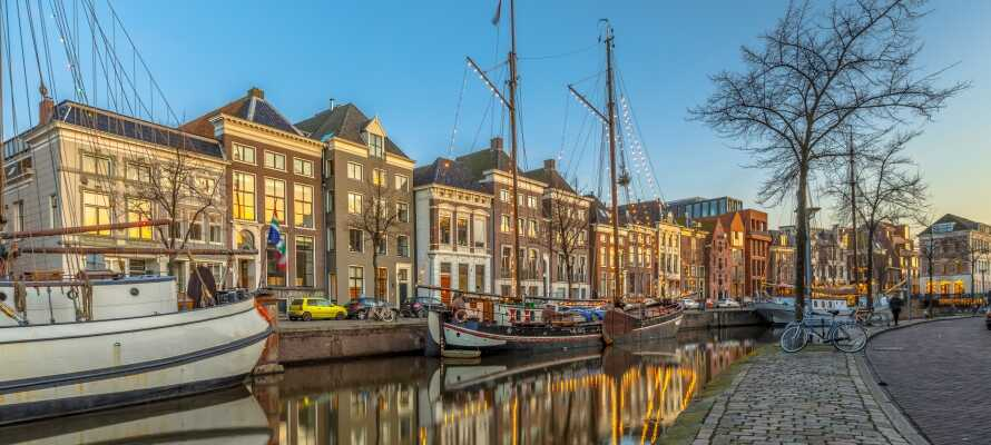 Groningen er en af Hollands absolut smukkeste storbyer og byder på bl.a. på shopping, kanalfart, museer og sightseeing