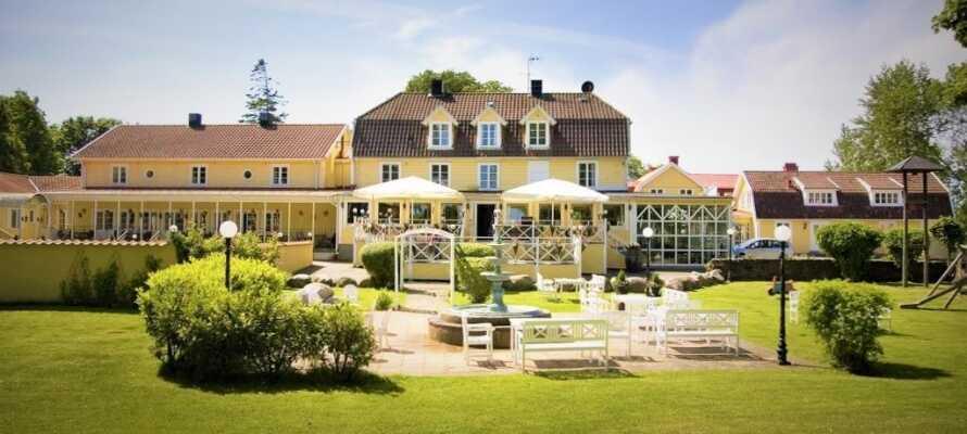 Hotell Skansen Öland är en oas perfekt för avslappning på hotellets egna spa.