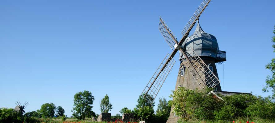 Öland ist für seine vielen holländischen Windmühlen bekannt, die um das Jahr 1860 auf die Insel kamen.