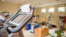 Under opholdet har I mulighed for at dyrke fitness