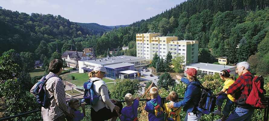 Morada Hotel Alexisbad ligger vackert beläget i den charmiga lilla kurorten Alexisbad i Harzen.