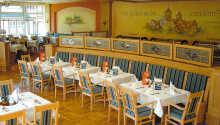 Nyd dejlige regionale retter i restauranten