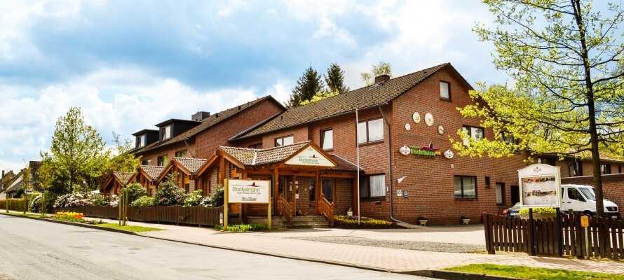 Njut av en härlig hotellvistelse i natursköna omgivningar på ett mysigt hotell där det är ägaren själv som lagar maten