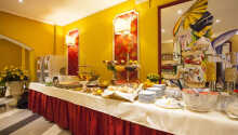 Det 4-stjernede Hotel Puccini ligger skønt i hjertet af kurbyen Montecatini Terme