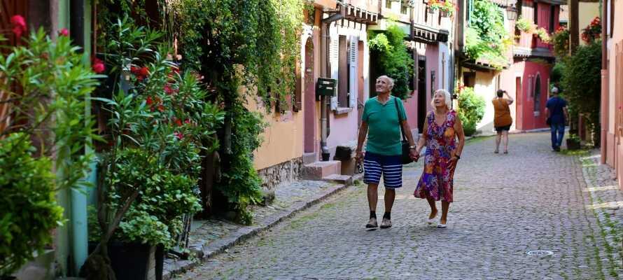 Besök några av områdets många charmiga små städer.