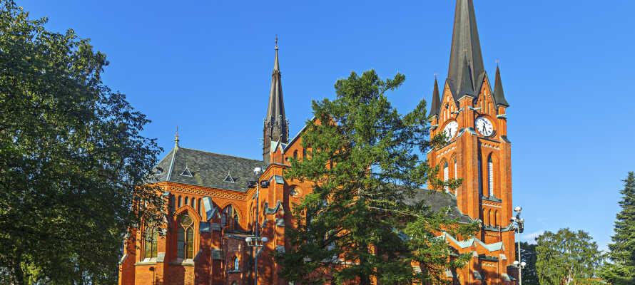 Sundsvall brann ner till grunden ännu en gång 1888. Gustav Adolfs kyrka står på samma plats som den gamla kyrkan