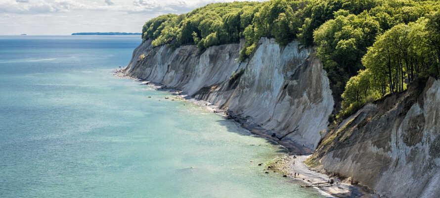 Parkhotel Rügen har alletiders centrale placering midt på den paradisagtige nordtyske ø.