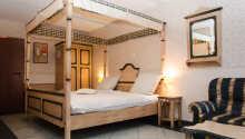 Exempel på ett av hotellets comfort dubbelrum.