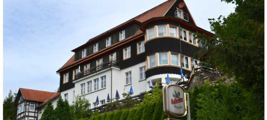 Lad naturen være en del af jeres ferie mens I bor på Pension Zum Harzer Jodlermeister.
