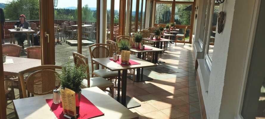 Harmonie Hotel Rust ligger i hjertet af Harzen og har en fantastisk udsigt over de naturskønne landskaber