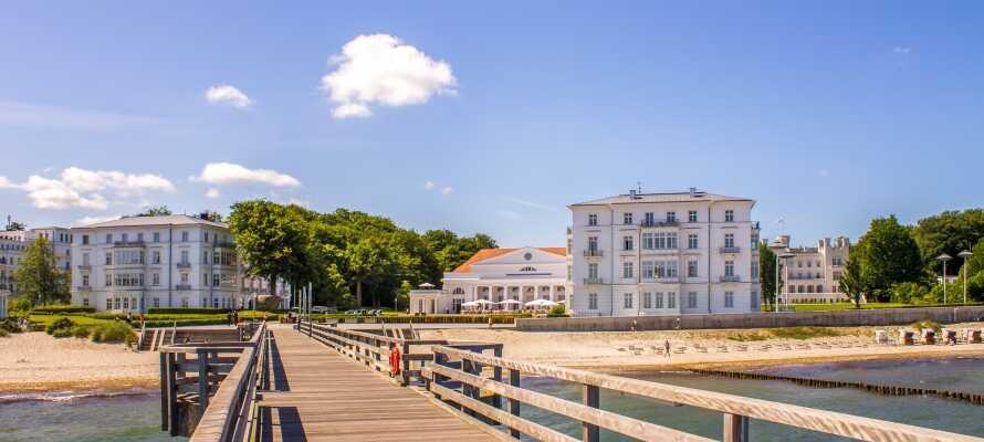 Besuchen Sie einige der umliegenden Städte und machen Sie zum Beispiel einen Ausflug nach Bad Doberan.