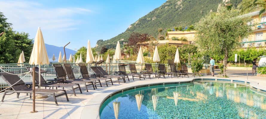 Hotel Cristina er et velkendt hotel og har gennem mange år budt danskere velkommen til skøn ferie i det italienske.