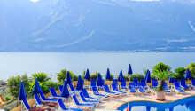 Hotel Cristina ligger skønt i Limone, bare 500 meter fra Gardasøen.
