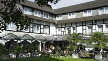 Das Hotel ist von der schönen Natur des nördlichen Teutoburger Waldes umgeben
