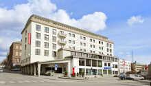 Thon Hotel Saga ligger sentralt plassert i sjarmerende Haugesund.