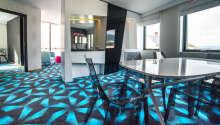Hva det angår design, har alle rom er spesielt særpreg.