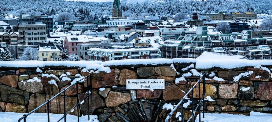 Kristiansand er en vakker og gammel by med massevis av spennende historie.