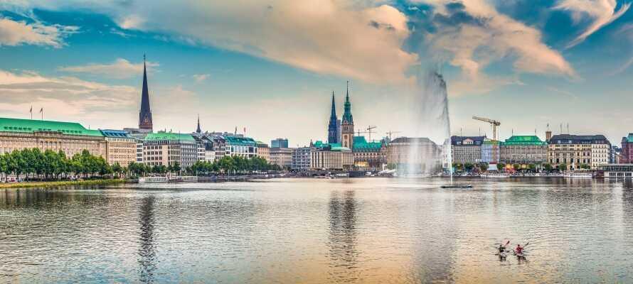 Opplev den tyske metropolen, Hamburg, med opplevelser for store og små.