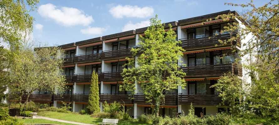 VitalHotel Ascona byder velkommen til et dejligt wellnessophold i naturskønne omgivelser.
