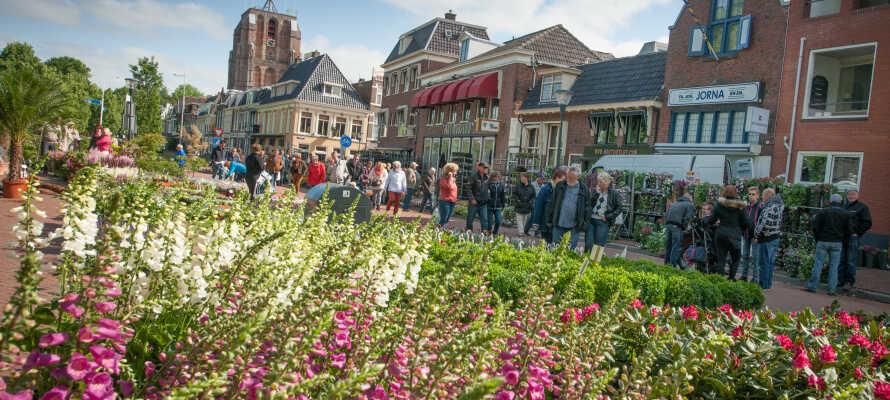 Tag på opdagelse i de hyggelige byer omkring hotellet, eksempelvis Heerenveen eller Leeuwarden