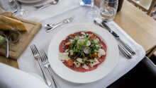 Restauranten har specialiseret sig i det franske køkken med lokalt twist.